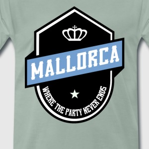 WHERE PARTY NEVER ENDS MALLORCA - Men's Premium T-Shirt