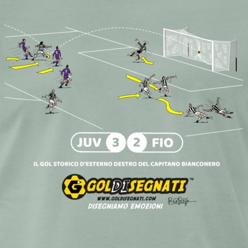 JUV-FIO 3-2 1994 Il Gol storico d'esterno destro - Maglietta Premium da uomo