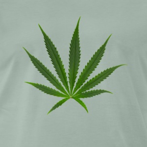 cannabis Sativa - Premium T-skjorte for menn