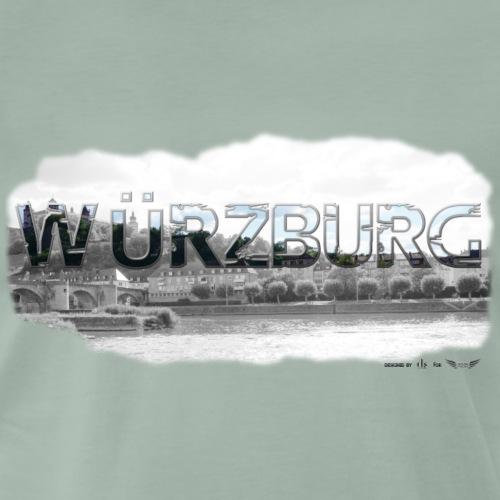 Würzburg von Lieblingsregion (Skyline) - Männer Premium T-Shirt