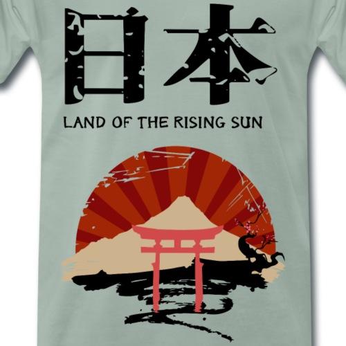 Pais del sol naciente - Camiseta premium hombre