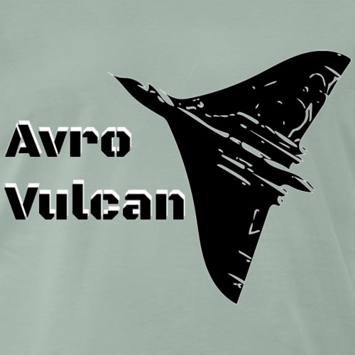 Vulcan the big delta - Men's Premium T-Shirt