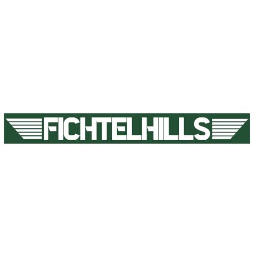 Fichtelhills Wings green - Männer Premium T-Shirt