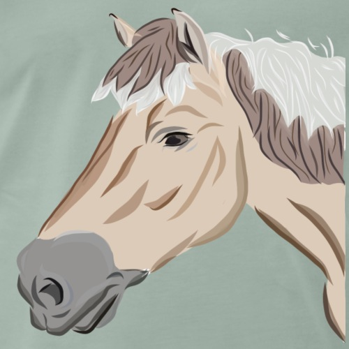 Fjord Pony - Männer Premium T-Shirt