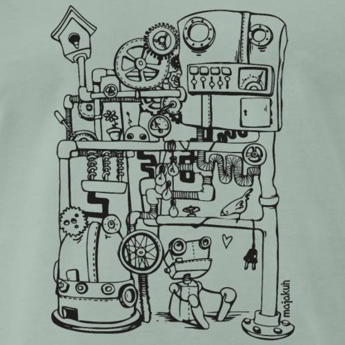 Robin der Roboter und einfach nur Vogel - Männer Premium T-Shirt
