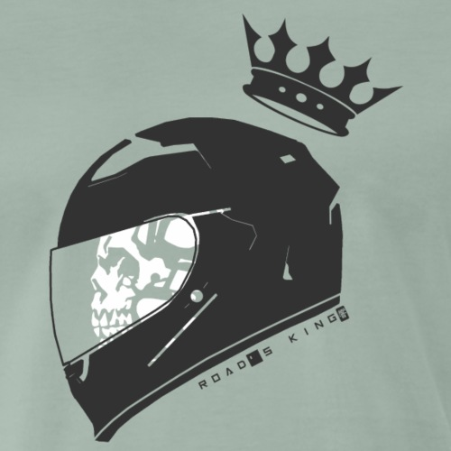 Road's King [B&W] - T-shirt Premium Homme