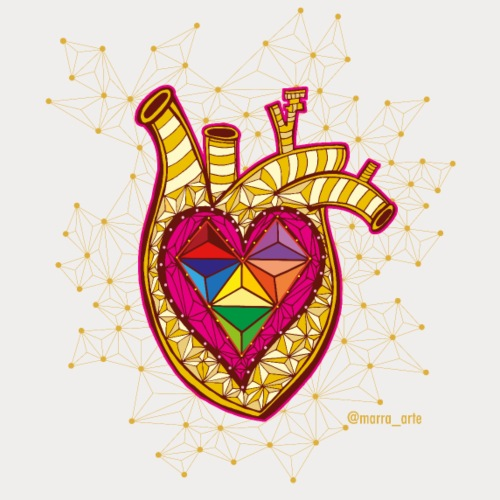 Corazón de Victoria - Camiseta premium hombre