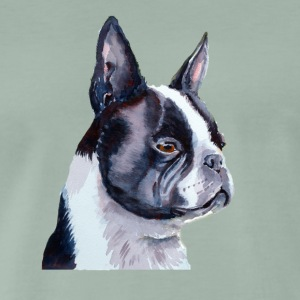 Boston terrier - Premium-T-shirt herr