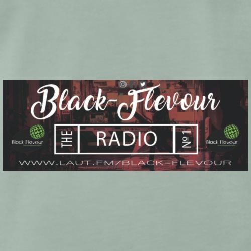Black-Flevour The Radio - Männer Premium T-Shirt