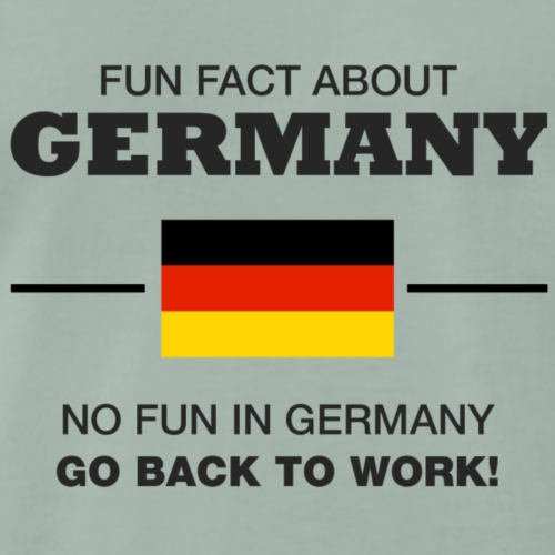 FUN FACT ABOUT GERMANY - T-shirt Premium Homme