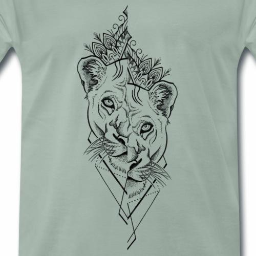 wicked jb lion - Männer Premium T-Shirt