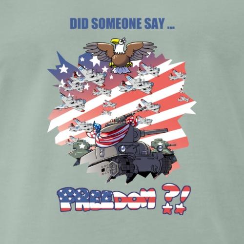 freedom - Maglietta Premium da uomo