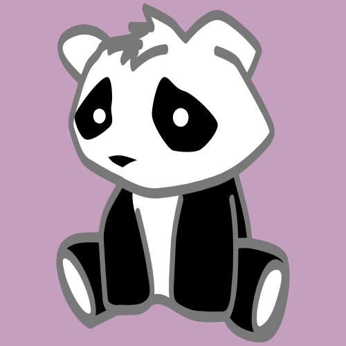 kleiner Pandabär - Männer Premium T-Shirt