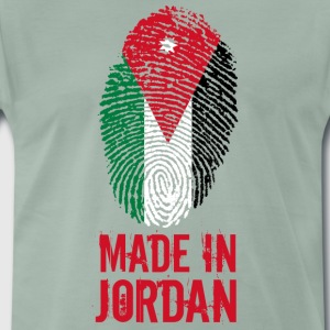 Made in Jordan / Made in Jordan الأردن - Premium T-skjorte for menn