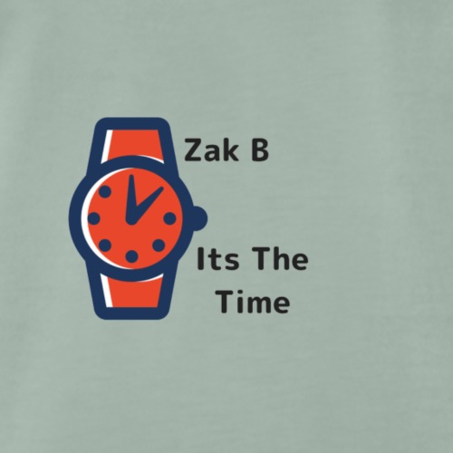 Its The Time | Zak B - Men's Premium T-Shirt