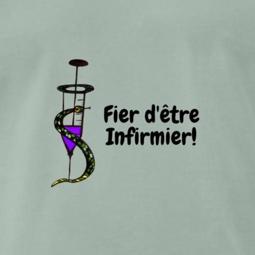 Seringue et Serpent - T-shirt Premium Homme