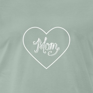 mom - Premium-T-shirt herr