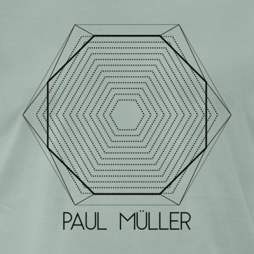 Romancity Paul Müller Black - Men's Premium T-Shirt