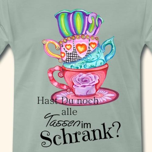 Crazy Tassen - Männer Premium T-Shirt