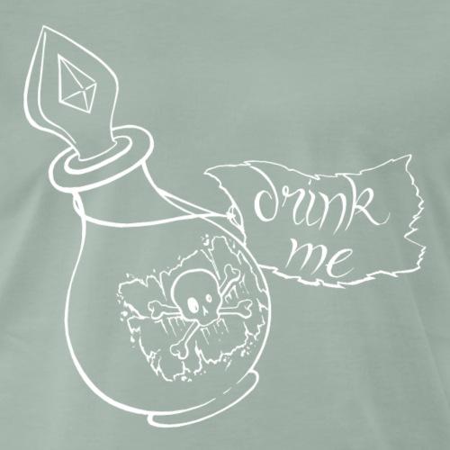 drink me negativ, taste of ink tattoo design - Männer Premium T-Shirt