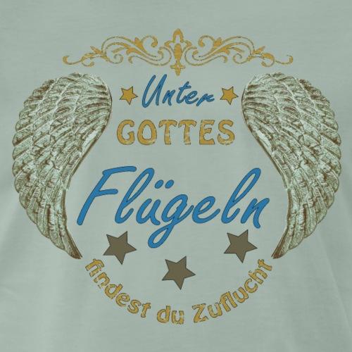 Unter Gottes Flügeln - Männer Premium T-Shirt
