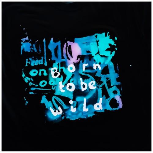 PSX 20180607 151904 Born to be wild- schwarz - Männer Premium T-Shirt