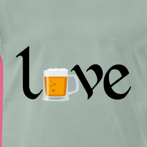 te amo cerveza - Camiseta premium hombre