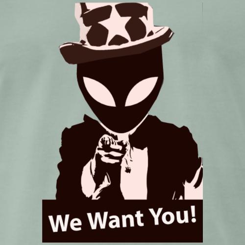 We want you - Camiseta premium hombre