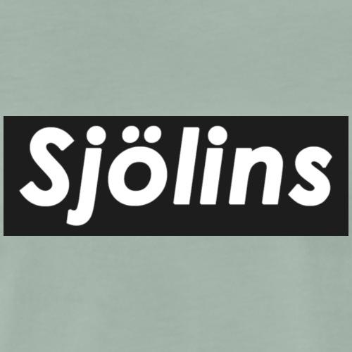 Sjölins Svart - Premium-T-shirt herr