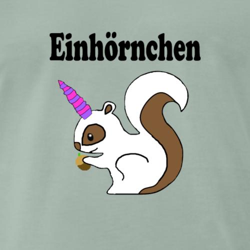 Einhoernchen - Männer Premium T-Shirt