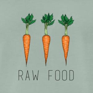 raw food - Männer Premium T-Shirt