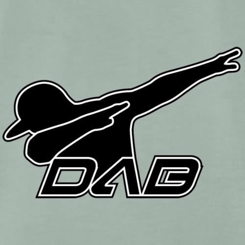 Alternate DAB black white outline - Männer Premium T-Shirt