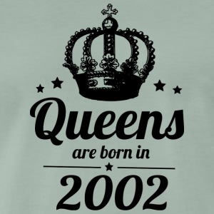 Queen 2002 - Premium T-skjorte for menn