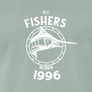 Present for fishers born in 1996 - Men's Premium T-Shirt