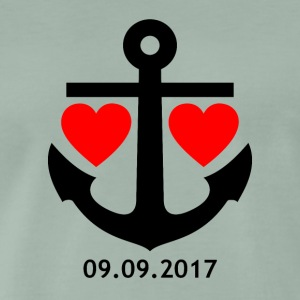 09/09/2017 relationship shirt / mug / pillow / case - Men's Premium T-Shirt