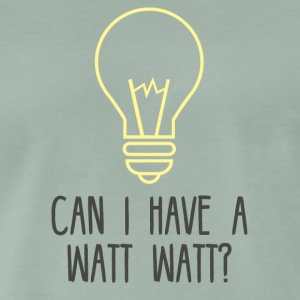 Electrician: Can i have a Watt Watt? - Men's Premium T-Shirt