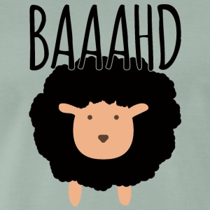 Sheep / farm: Baaahd - Men's Premium T-Shirt