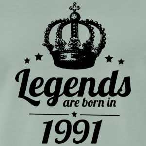 Legends 1991 - Herre premium T-shirt