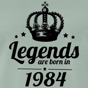 Legends 1984 - Herre premium T-shirt