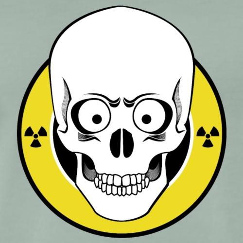 Radioactive Skull - Männer Premium T-Shirt