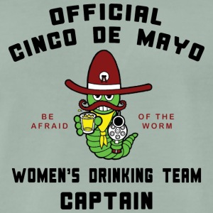 Cinco de Mayo Vrouwen Drinkende Team Captain - Mannen Premium T-shirt