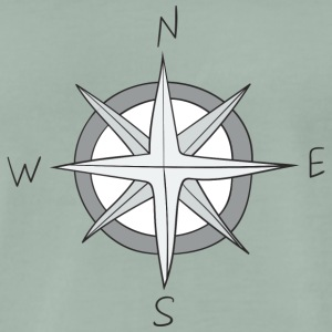 wind rose - Men's Premium T-Shirt