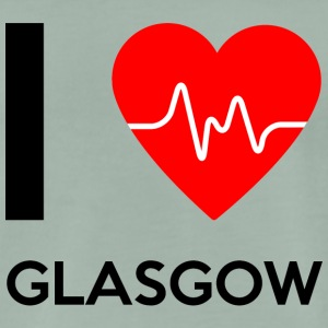 I Love Glasgow - I love Glasgow - Men's Premium T-Shirt