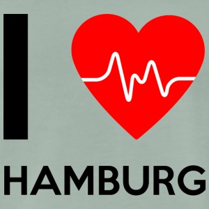 I Love Hamburg - I Love Hamburg - Men's Premium T-Shirt