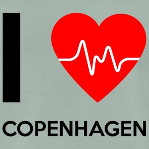 J'aime Copenhague - I love Copenhague - T-shirt Premium Homme