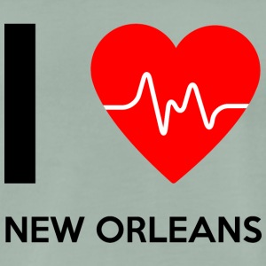 I Love New Orleans - I love New Orleans - Men's Premium T-Shirt