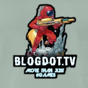 Rocketman Blogdot.tv Hoved Logo - Premium T-skjorte for menn