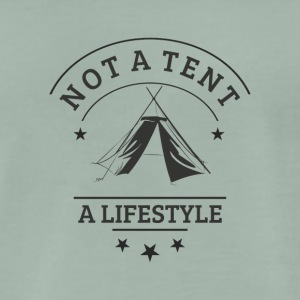 not_a_tent - Premium T-skjorte for menn