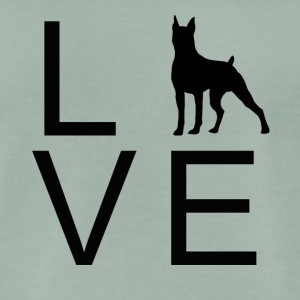 Dog Love 2 - Mannen Premium T-shirt