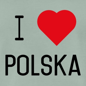 I Love Polska II - Men's Premium T-Shirt